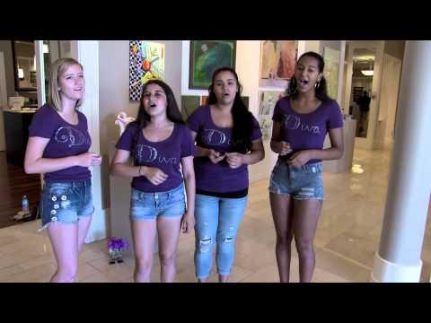 """Feeling Good"" - A Cappella Cover by DIVA - Liberty High School, 2015-16"