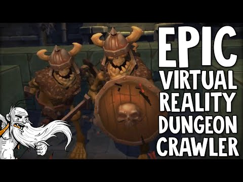 """IT'S LIKE VIRTUAL REALITY BINDING OF ISAAC!!!""  Legend of Luca HTC Vive Virtual Reality (VR) Game!"