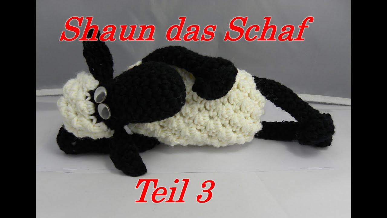 Shaun Das Schaf Häkeln Mit Veronika Hug Teil 3 Kopf Mit Ohren