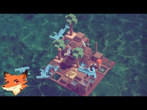 LAST WOOD [FR] Survivre en pleine mer dans un jeu gratuit inspiré de RAFT  !