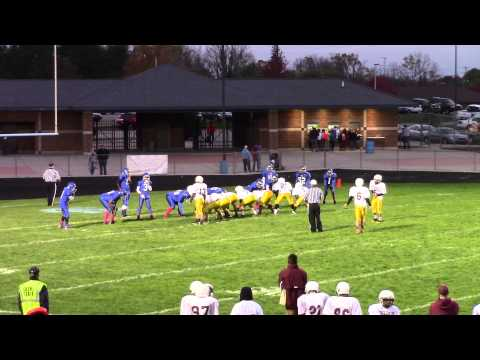 Davison Middle School Football vs. Carman-Ainsworth