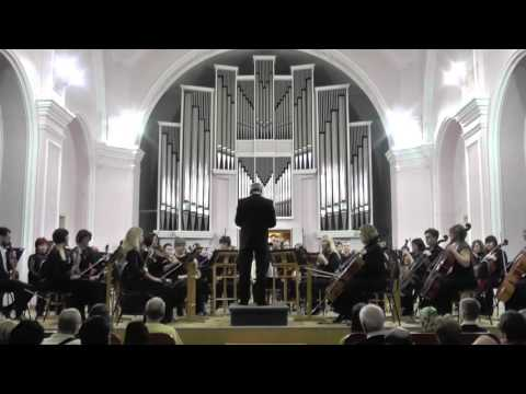 Hans Faehrmann - Simfonisches Konzert op.52 for Organ and Orchestra - Russian Premiere!