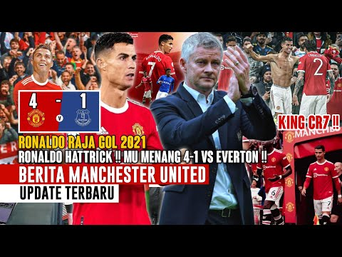 RONALDO HATTRICK❗MU Menang 4-1 Vs Everton 😍 Ronaldo Raja Gol 2021 👏 Prediksi Mimin! 🤝 Berita MU 🔴 thumbnail