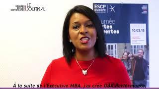 """Interview Odile Bocandé Koffi  Rencontre Le Journal """"Le Monde des Grandes Ecoles et Universités"""""""
