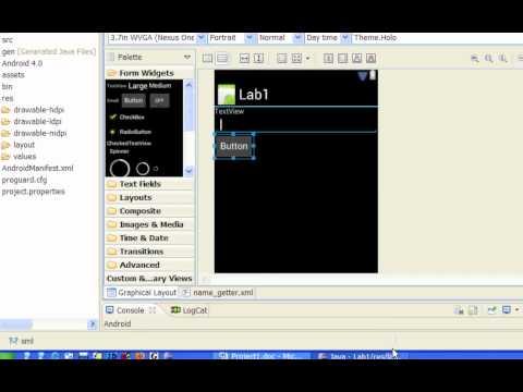 Android Application Development - Project 1 - Advanced Hello World