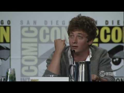Shameless Comic-Con 2012 Panel: Jeremy's Acting Education
