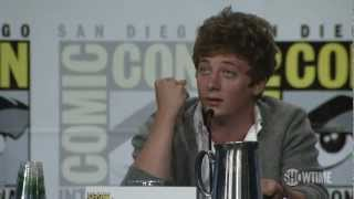 Repeat youtube video Shameless Comic-Con 2012 Panel: Jeremy's Acting Education