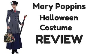 Women's English Nanny Adult Costume Review | Mary Poppins Costume Review