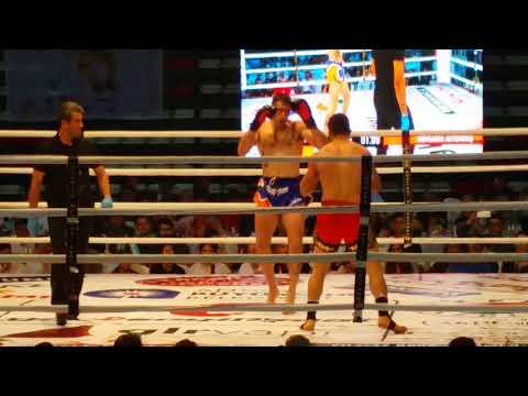 Muay thai Avrupa Şampiyonu TÜRKİYE-İSPANYA