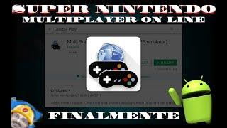Novo emulador multiplayer online de Super Nintendo P/ Android