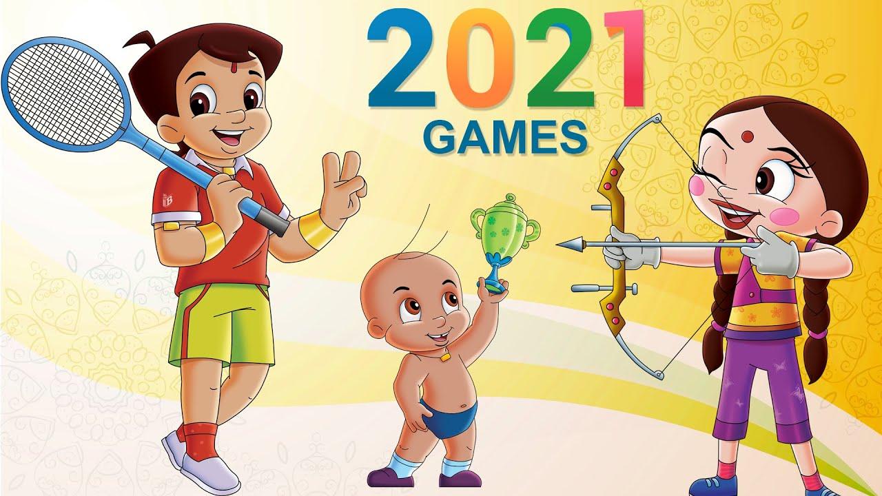 Chhota Bheem - Super Khiladi | Olympics Special Video 2021 | Cartoons for Kids in Hindi