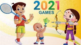 Chhota Bheem - Super Khiladi   Olympics Special Video 2021   Cartoons for Kids in Hindi
