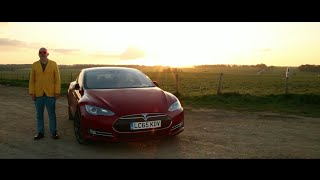 Face Against The Sun - From Stonehenge to The Shard with Tesla P90D