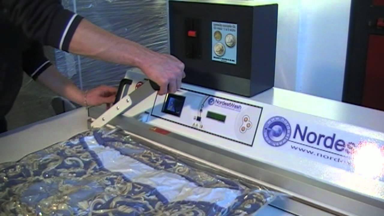 Macchina Sottovuoto per lavanderie self service  YouTube