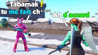 "I meet this ""Québécois"" super nice, here's what happened! Fortnite Battle Royale"