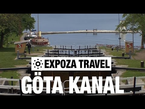 Göta Kanal (Sweden) Vacation Travel Video Guide