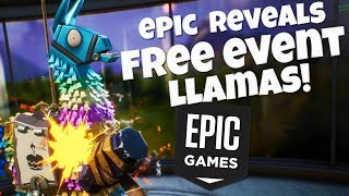 Epic Reveals Free Birthday Event Llamas! Fortnite Save The World Reddit Forum