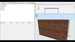 Sweet Home 3D (Свит Хоум) как назначить свои текстуры и материалы объектам