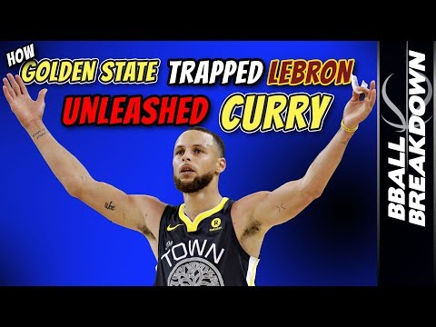 How Golden State TRAPPED LeBron, UNLEASHED Curry