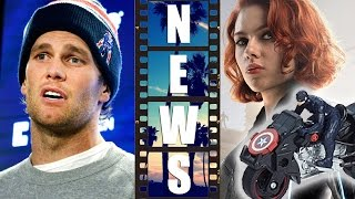 Tom Brady Deflategate Suspension, Black Widow Toys #WheresNatasha - Beyond The Trailer