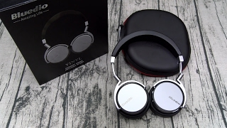 Bluedio Vinyl On-ear Wireless Bluetooth 4.1 Headphones