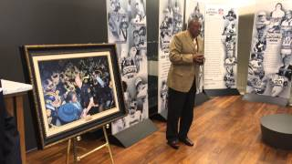 Coach Wilbert Ellis on his friend & colleague, Coach Robinson