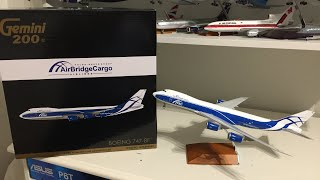 Video Air BridgeCargo Boeing 747-8F 1:200 gemini 200 review download MP3, 3GP, MP4, WEBM, AVI, FLV Juni 2018
