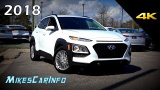 2018 Hyundai Kona SEL Ultimate In Depth Look in 4K