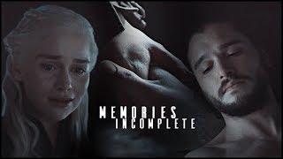 jon snow & daenerys targayren (+ jorah mormont) [7x06] | memories incomplete