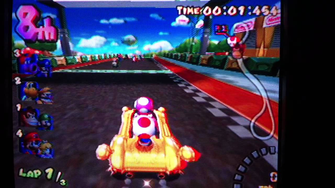 Mario Kart Double Dash: Toad and Toadette - YouTube - photo#4