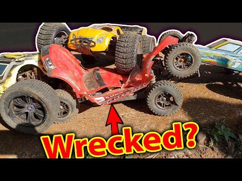 RC CAR DESTRUCTION DER  3v1 Poor Traxxas Slash 4x4