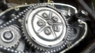 рЕМОНТ мотоцикла иж юпитер 5(настройка сцепления)
