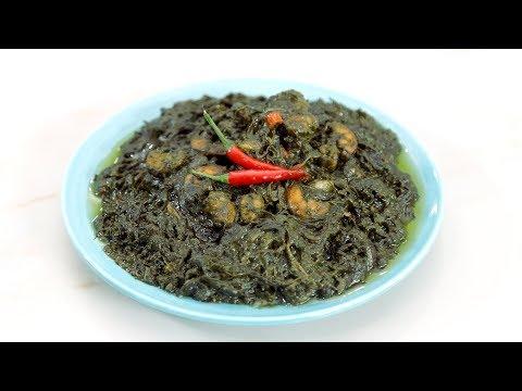 Laing Recipe (Taro Leaves in Coconut Milk) | Yummy Ph