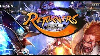 回歸者Returners # 1 遊戲教學很貼心 , 風格有點仿LOL【天空葡萄園】