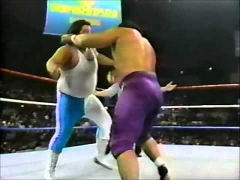 Frankie Valdez vs. King Haku_Superstars 12-88
