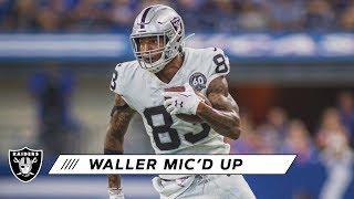 Darren Waller mic'd up vs. Colts | Raiders