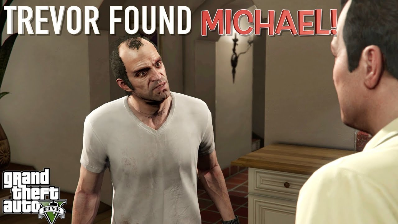 Crazy Trevor Found Michael Funny Gta 5 Storymode Gameplay 7