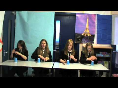 Franco-British council film 'Je Veux' by The Magna Carta School Year 7 MFL Students