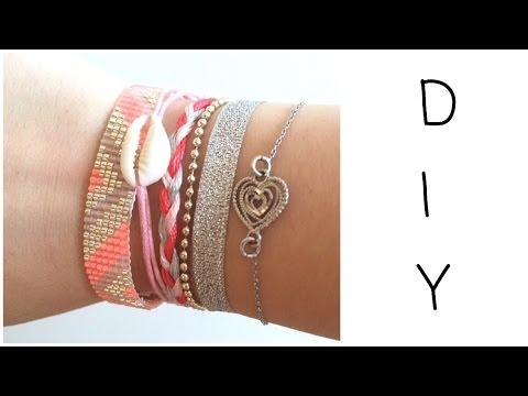 Relativ DIY] Bracelet en perles tissé - YouTube IR01