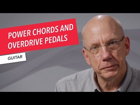 Playing Power Chords on Guitar through Overdrive and Distortion Pedals