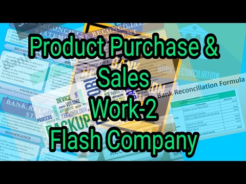 Product purchase & sales work-2 Flash company