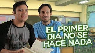 PRIMER DIA DE CLASES 69 - VLOG (LUISITO REY Y ALEX MONTIEL)