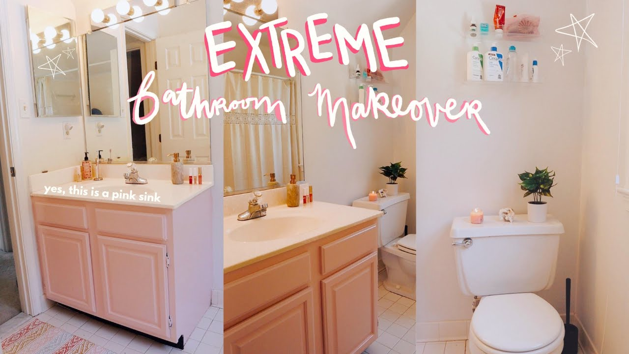 Redoing My Bathroom Apartment Makeover, Redoing My Bathroom