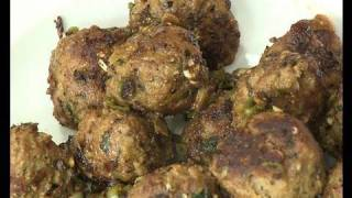 Garlic Pepper Meat Balls - By VahChef @ VahRehVah.com