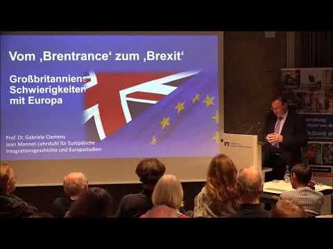 Vom 'Brentrance' zum 'Brexit'. Großbritanniens Schwierigkeiten mit Europa