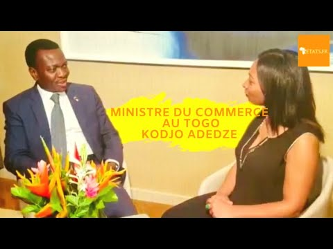 #TOGO #COMMERCE - Ministre du Commerce Kodjo ADEDZE Le Togo,