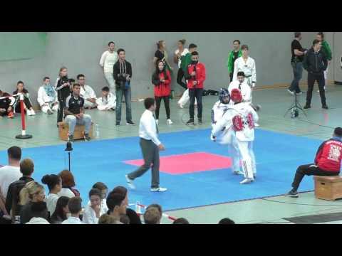 Video Momente #태권도-Taekwondo Vollkontakt-Turnier Norddeutsche Meisterschaft #YouTube #video 2016