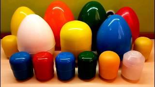 Разноцветные сюрпризы Игрушки из мультов Три Кота Фиксики Маша и Медведь Головоломка Барбоскины и др