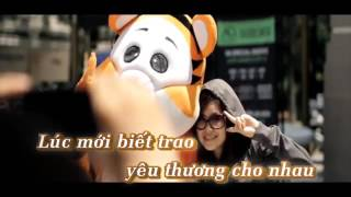 Karaoke Mãi không ân hận chuẩn