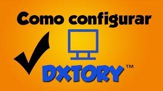 Como configurar o Dxtory - O melhor programa pra gravar Gameplays :)